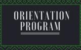 Orientation Programme Report